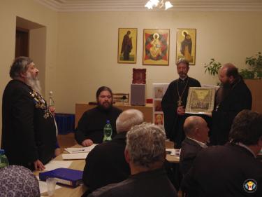 ХАРЬКОВ. Круглый стол в рамках празднований в честь Озерянской иконы Божией Матери