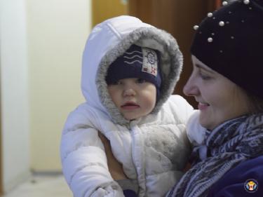 Продуктова та гуманітарна підтримка для молодих мам